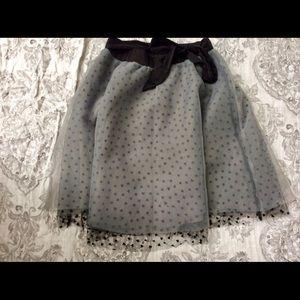 Heart patterned skirt